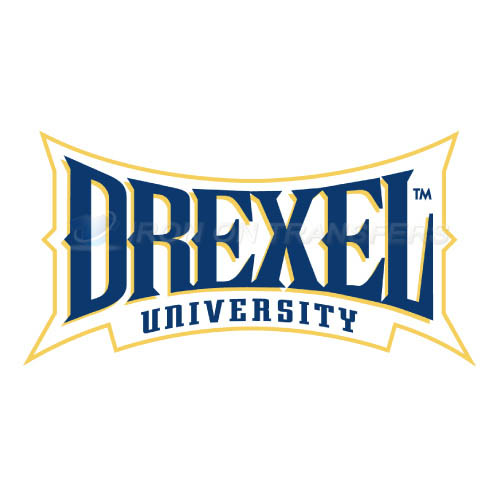 Drexel Dragons Iron-on Stickers (Heat Transfers)NO.4280
