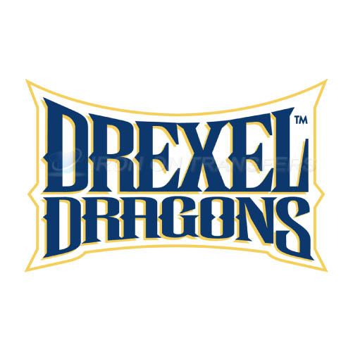 Drexel Dragons Iron-on Stickers (Heat Transfers)NO.4282