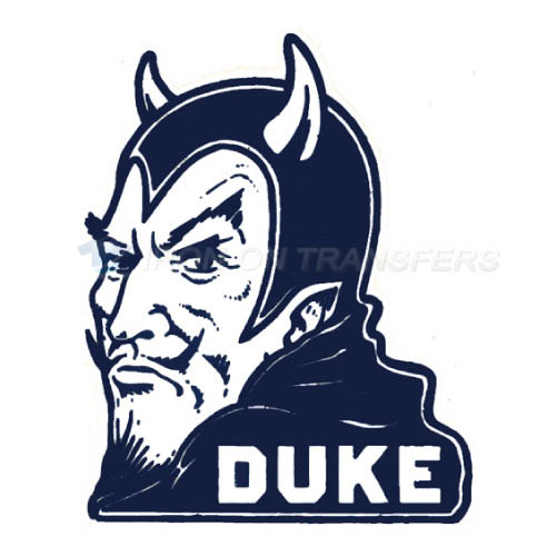 Duke Blue Devils Iron-on Stickers (Heat Transfers)NO.4287