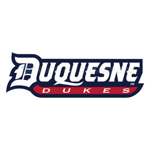Duquesne Dukes Iron-on Stickers (Heat Transfers)NO.4294