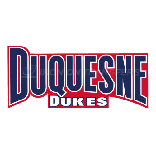 Duquesne Dukes Iron-on Stickers (Heat Transfers)NO.4295