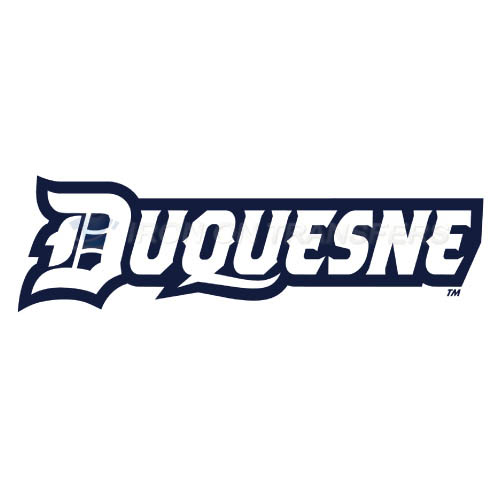 Duquesne Dukes Iron-on Stickers (Heat Transfers)NO.4297