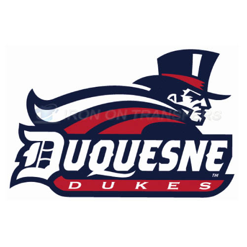 Duquesne Dukes Iron-on Stickers (Heat Transfers)NO.4299
