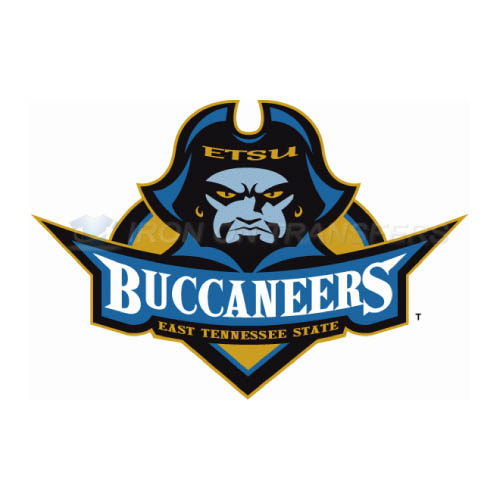 ETSU Buccaneers Iron-on Stickers (Heat Transfers)NO.4338
