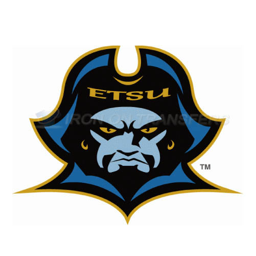 ETSU Buccaneers Iron-on Stickers (Heat Transfers)NO.4339