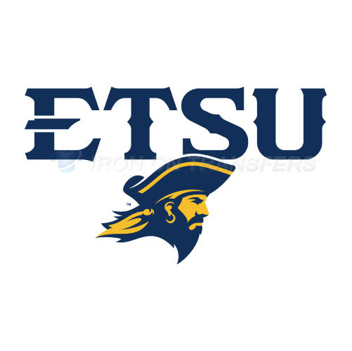 ETSU Buccaneers Iron-on Stickers (Heat Transfers)NO.4341