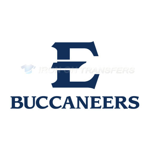 ETSU Buccaneers Iron-on Stickers (Heat Transfers)NO.4342