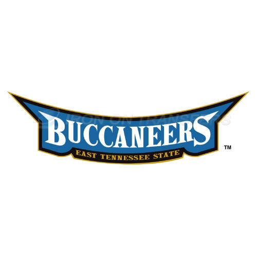 ETSU Buccaneers Iron-on Stickers (Heat Transfers)NO.4343