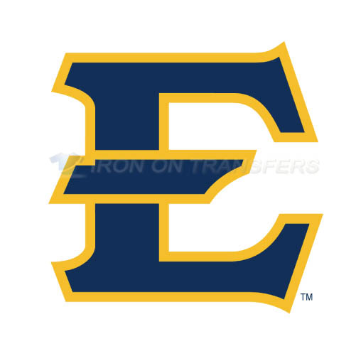 ETSU Buccaneers Iron-on Stickers (Heat Transfers)NO.4345