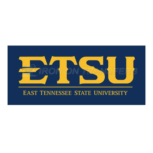 ETSU Buccaneers Iron-on Stickers (Heat Transfers)NO.4348