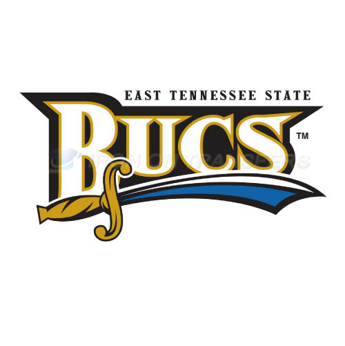 ETSU Buccaneers Iron-on Stickers (Heat Transfers)NO.4352