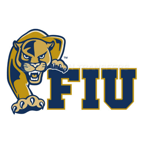 FIU Panthers Iron-on Stickers (Heat Transfers)NO.4365