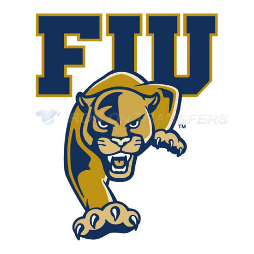 FIU Panthers Iron-on Stickers (Heat Transfers)NO.4366