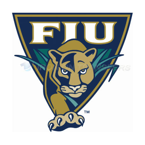 FIU Panthers Iron-on Stickers (Heat Transfers)NO.4367