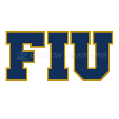 FIU Panthers Iron-on Stickers (Heat Transfers)NO.4368
