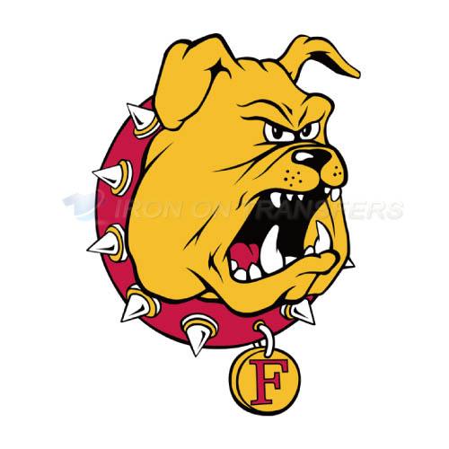 foto de Ferris State Bulldogs Iron-on Stickers (Heat Transfers)NO.4360 ...