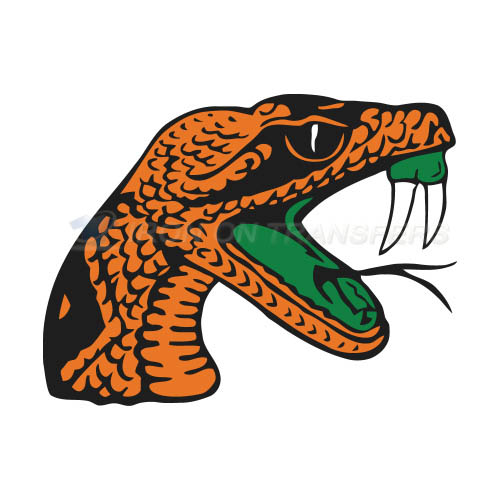 Florida A M Rattlers Iron-on Stickers (Heat Transfers)NO.4370