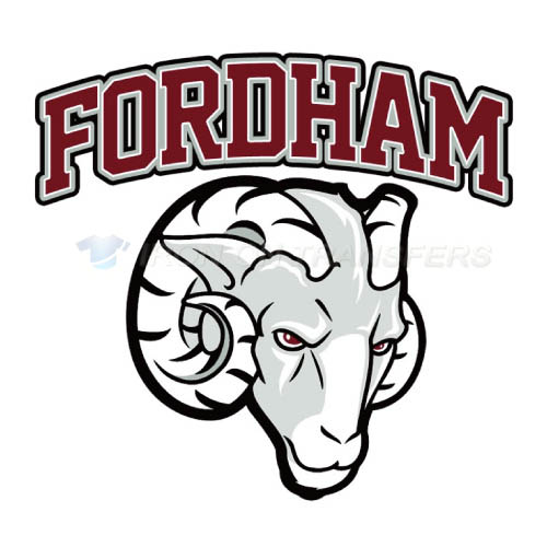 Fordham Rams Iron-on Stickers (Heat Transfers)NO.4406