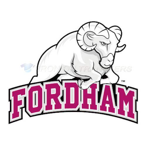 Fordham Rams Iron-on Stickers (Heat Transfers)NO.4408