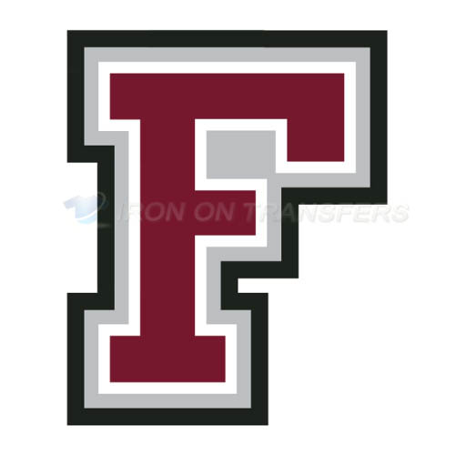 Fordham Rams Iron-on Stickers (Heat Transfers)NO.4410