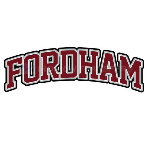 Fordham Rams Iron-on Stickers (Heat Transfers)NO.4412