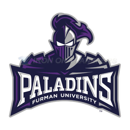 Furman Paladins Iron-on Stickers (Heat Transfers)NO.4428