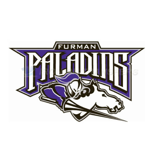 Furman Paladins Iron-on Stickers (Heat Transfers)NO.4430
