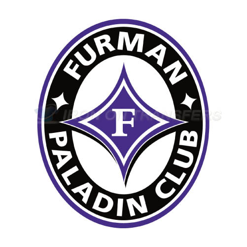 Furman Paladins Iron-on Stickers (Heat Transfers)NO.4432