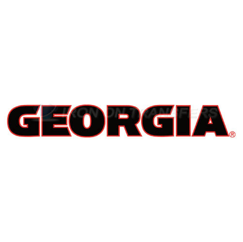 Georgia Bulldogs Iron-on Stickers (Heat Transfers)NO.4468