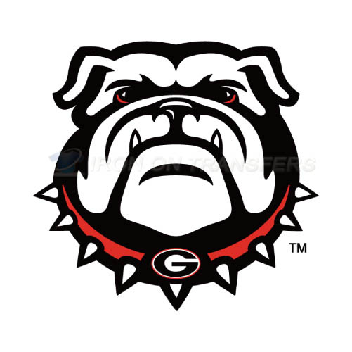 Georgia Bulldogs Iron-on Stickers (Heat Transfers)NO.4469