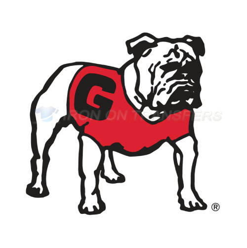 Georgia Bulldogs Iron-on Stickers (Heat Transfers)NO.4470