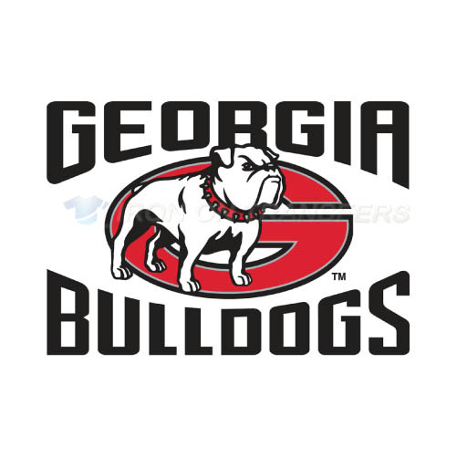 Georgia Bulldogs Iron-on Stickers (Heat Transfers)NO.4471