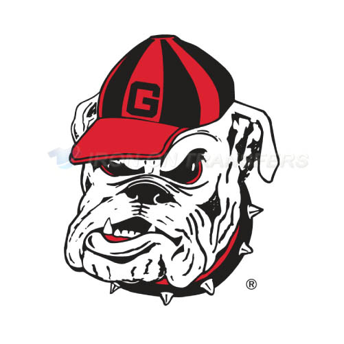 Georgia Bulldogs Iron-on Stickers (Heat Transfers)NO.4472
