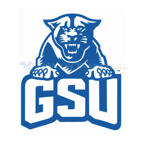 Georgia State Panthers Iron-on Stickers (Heat Transfers)NO.4482