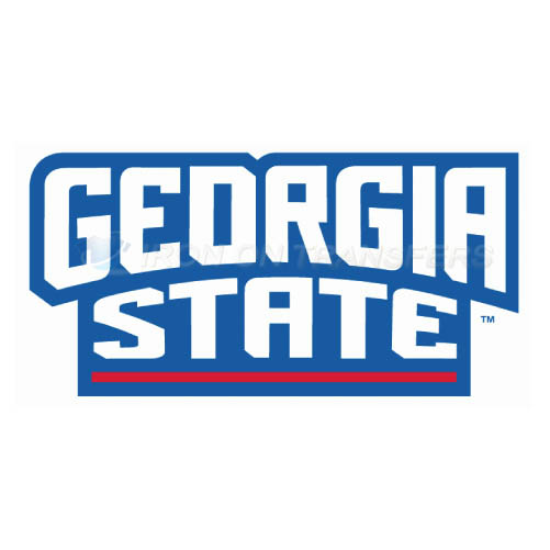 Georgia State Panthers Iron-on Stickers (Heat Transfers)NO.4490