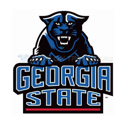 Georgia State Panthers Iron-on Stickers (Heat Transfers)NO.4491