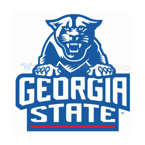 Georgia State Panthers Iron-on Stickers (Heat Transfers)NO.4492