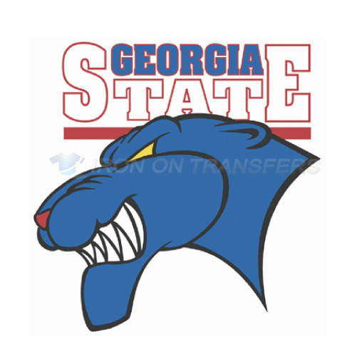 Georgia State Panthers Iron-on Stickers (Heat Transfers)NO.4493