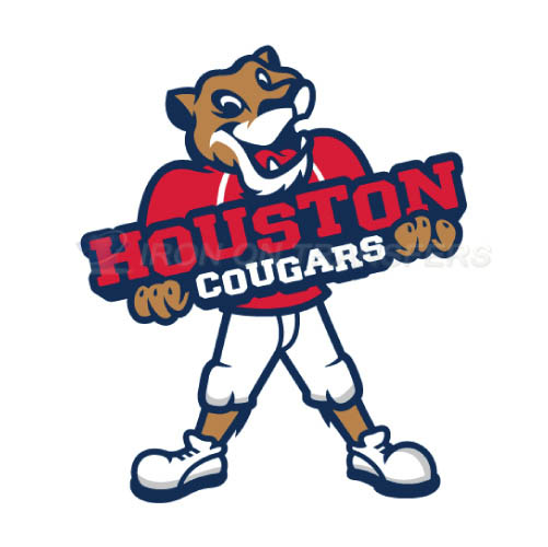 Houston Cougars Iron-on Stickers (Heat Transfers)NO.4573