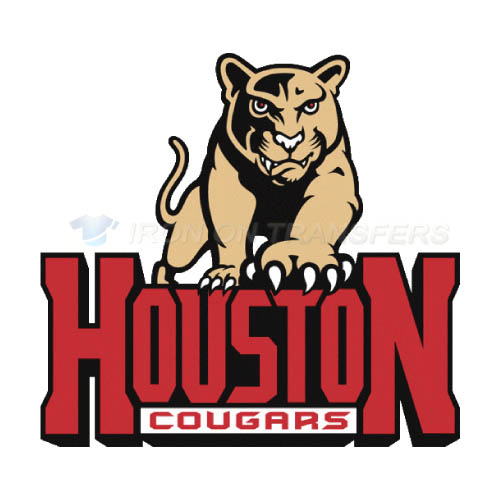 Houston Cougars Iron-on Stickers (Heat Transfers)NO.4575