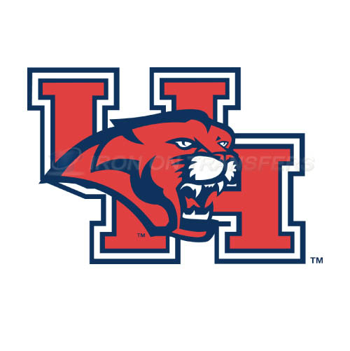 Houston Cougars Iron-on Stickers (Heat Transfers)NO.4577