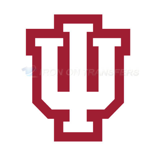 Indiana Hoosiers Iron-on Stickers (Heat Transfers)NO.4628