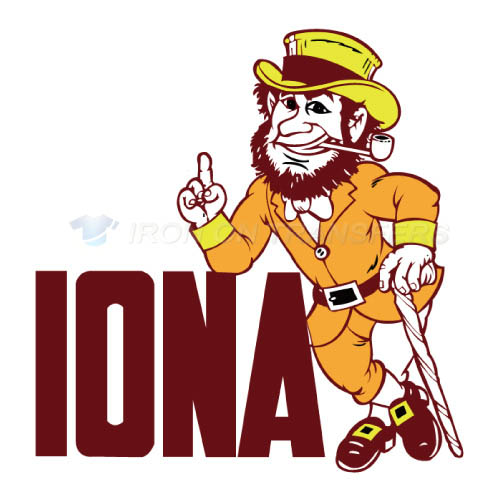 Iona Gaels Iron-on Stickers (Heat Transfers)NO.4638