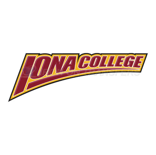 Iona Gaels Iron-on Stickers (Heat Transfers)NO.4639