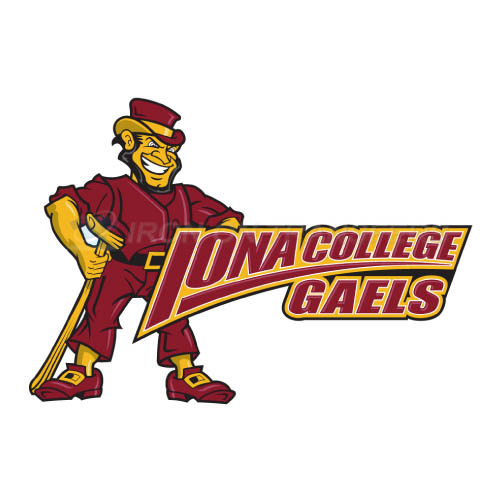 Iona Gaels Iron-on Stickers (Heat Transfers)NO.4642