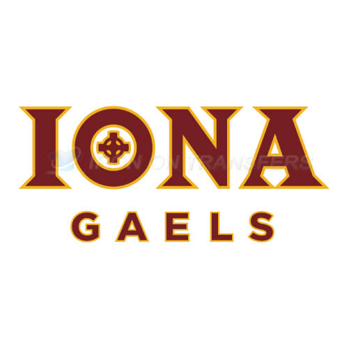 Iona Gaels Iron-on Stickers (Heat Transfers)NO.4643