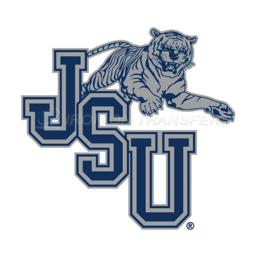 Jackson State Tigers Iron-on Stickers (Heat Transfers)NO.4683
