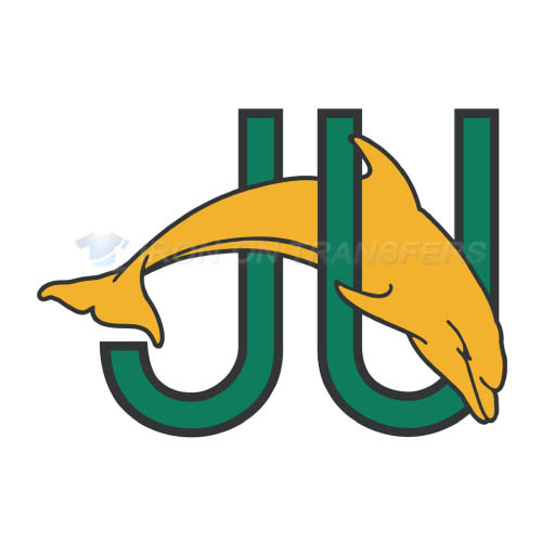 Jacksonville Dolphins Iron-on Stickers (Heat Transfers)NO.4684