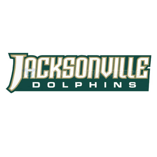 Jacksonville Dolphins Iron-on Stickers (Heat Transfers)NO.4685