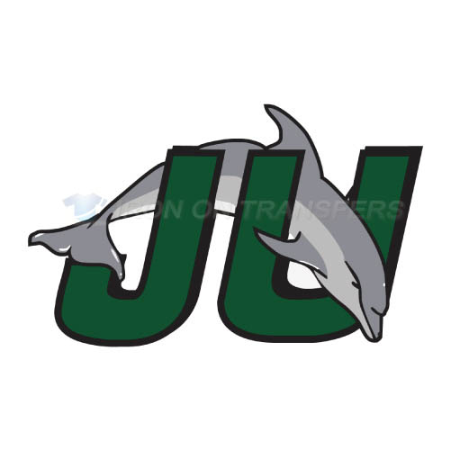 Jacksonville Dolphins Iron-on Stickers (Heat Transfers)NO.4686